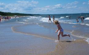 BEACH IN MIĘDZYZDROJE